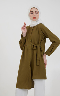 Blouse Sephia Gwen Tied Blouse Army