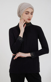 Inner Shirt Surinala Manset Top Black 2