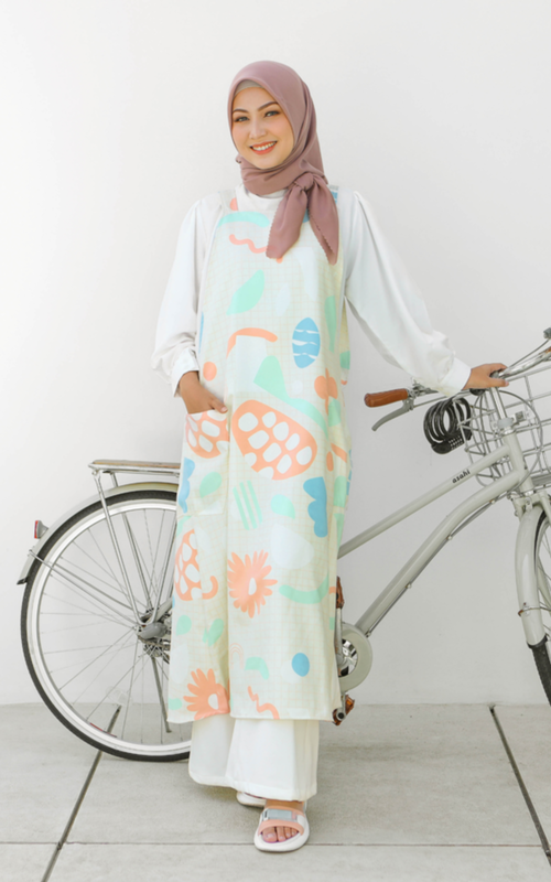 Overall - Kiya Overall Bloomy Cream - Bloomy Cream
