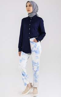 Pants Longpant Denim Tiedye