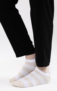 Kaos Kaki Stripes Ankle Socks