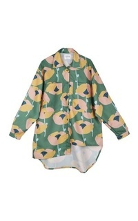 Blus Lubna Green