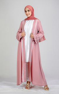 Cardigan Tunique wear | Atasyia Outer | Denting Raya Collection
