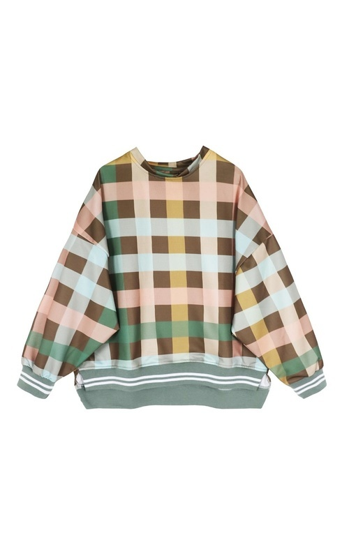 Blouse - Weslyn Square - Multicollor