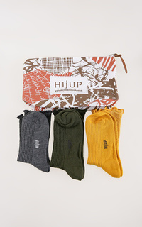 Socks Ruffle Long Socks Trio Set