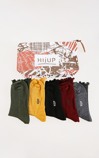 Socks Ruffle Long Socks All Color Set