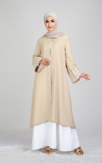 Cardigan Tunique wear | Ansara Outer | Denting Raya Collection