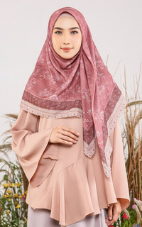 Printed Scarf Andhira Series - Alisa for HIJUP