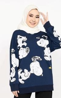 Sweater Sweater Oversize Snoopy