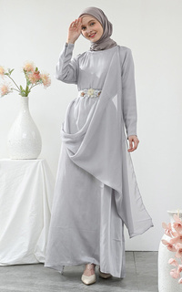 Gamis GREY DAVINA DRESS