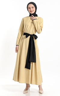 Gamis Yellow Anggita Dress
