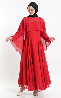 Gamis RED NAIFA DRESS