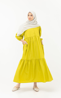 Gamis Belle Dress / Lime
