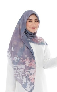 Printed Scarf Hijab Printing Korean Series