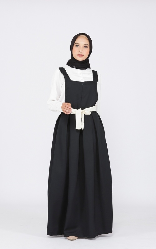 Overall - Emily overall - hitam