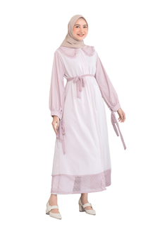 Gamis ALARA DRESS - BROWN PINK