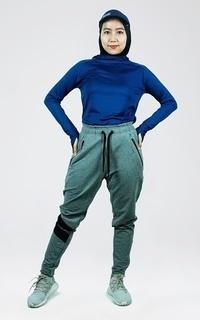 Pakaian Olahraga Trijee Ilya Pants - Grey