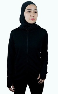 Sport Trijee Women Jacket With Hoodie Claudia - Black