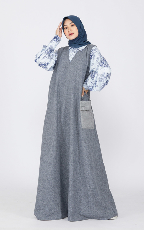 Vest - Viane Outer - turquoise