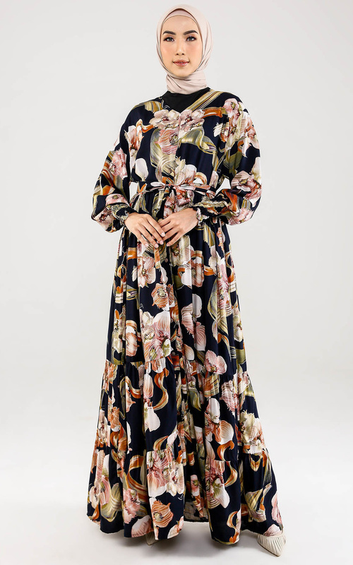 Long Dress - Bonny Gamis - Multicolor