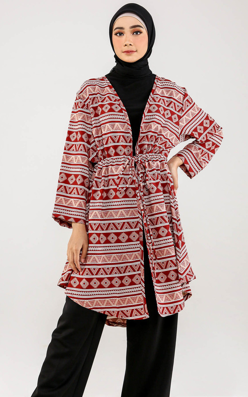 Tunic - Safira Outer - Red