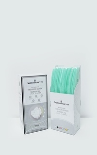 Masker Buttonscarves Disposable Mask - Mint