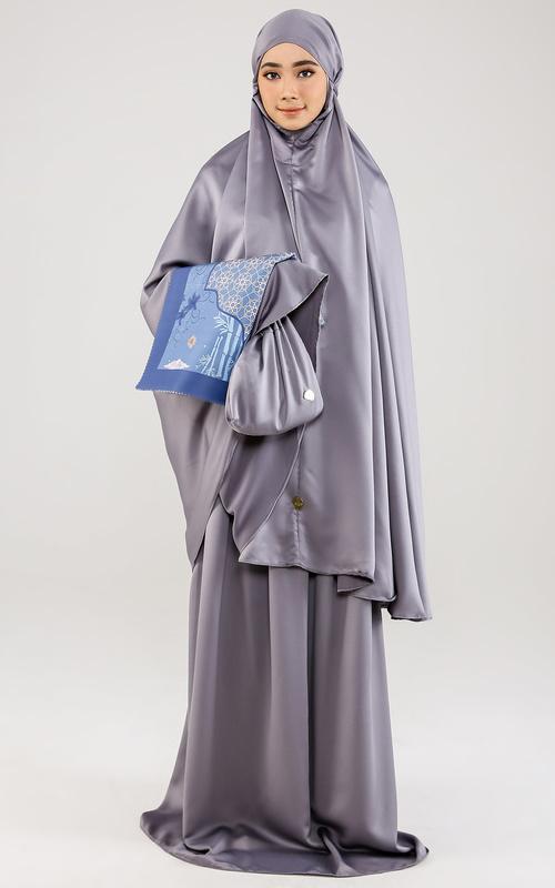 Praying Set - Alanna Praying Set in Indigo - Blue Grey