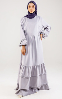 Long Dress Qiana Dress