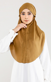Instant Hijab Everyday Slip On - Curry