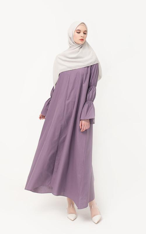 Long Dress - Tolga Dress / Lilac - Lilac