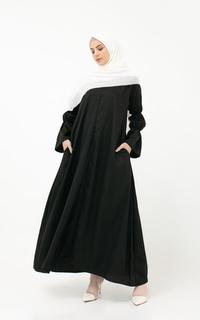 Gamis Tolga Dress / Black
