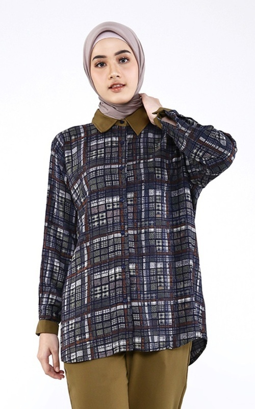 Shirt - Clarice Shirt with Mask - Multicolor