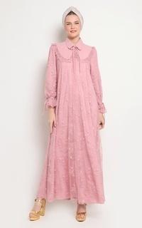 Long Dress RTW 23 Lace Pink
