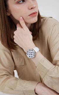 Jam Tangan Sophie Caren Polka Watches White