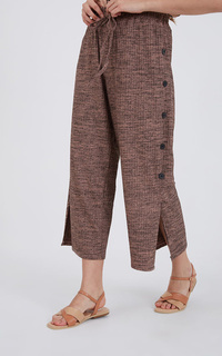 Sophie Lenore Button Pants Pink