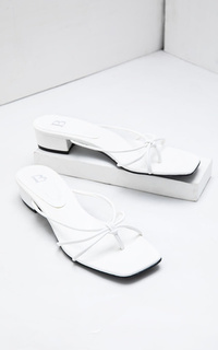 Shoes Sophie Tiffany Strapy Heels White