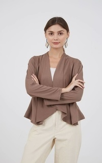 Cardigan Sophie Iffa Basic Outer Brown