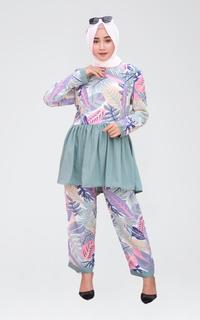 Matching Sets Imetys Nursing Wear  - Baju Menyusui Gamila Breastfeeding Set