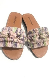 Shoes Sandal Macrame Ombre Cheerfull