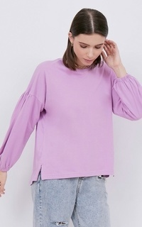 Shirt NONA March Tee Long Sleeve Lavender