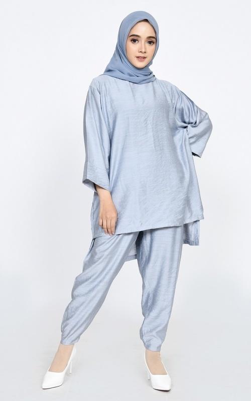 Matching Sets - SET Longpant Jovanka - Light Grey