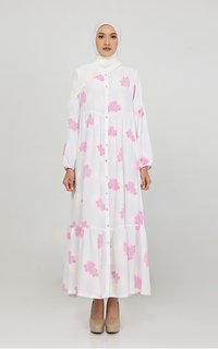 Gamis Sabrina Tiered Dress (Floare Collection by Anggia)