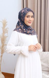 Printed Scarf Adha Collection 2021 in Onyx
