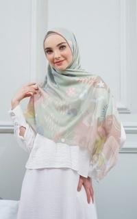 Hijab Motif SCARF DUHITA DUSTY GREEN