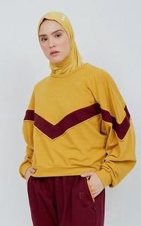 Shirt NONA Clarice Top Mustard - Nona x Noore