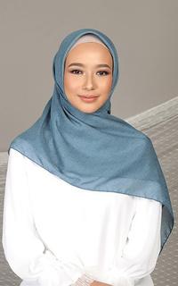 Plain Scarf Diario x Nagita Slavina - Hijab Wanita Plain Scarf Voal