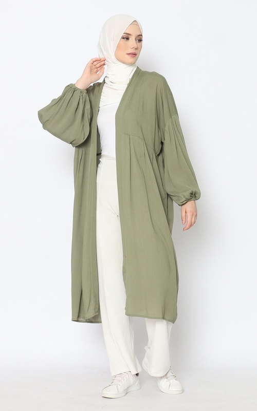 Cardigan - Chafia MSO Outer MSC085 - Green Army