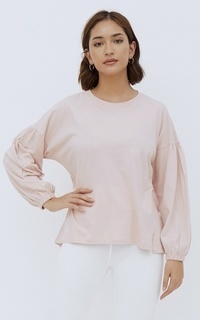 Shirt NONA March Tee Long Sleeve Dusty Pink