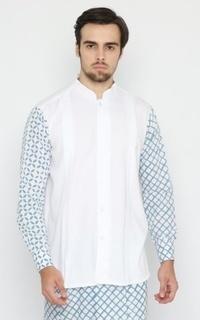 Menswear Keenan Koko White Long Sleeves (Pre-Order)