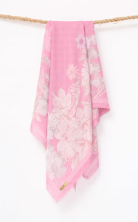 Printed Scarf Monoheart Voal Square Scarves